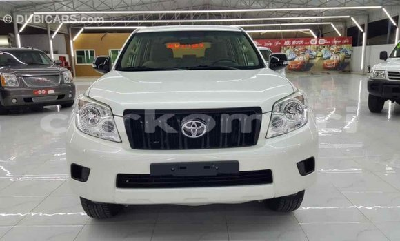 Acheter Importé Voiture Toyota Prado Blanc à Import - Dubai, Grande Comore