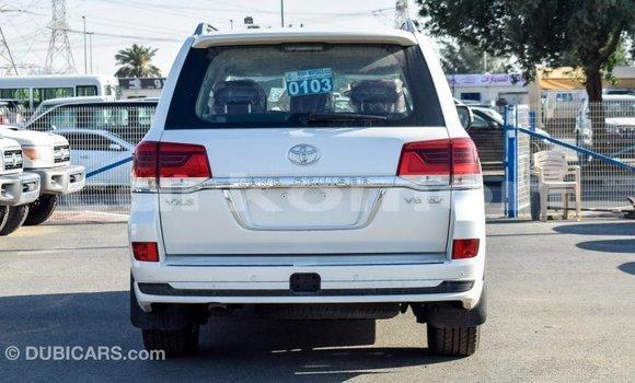 Acheter Importé Voiture Toyota Land Cruiser Blanc à Import - Dubai, Grande Comore