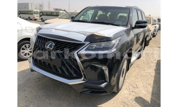 Buy Import Lexus LX Black Car in Import - Dubai in Great Comore